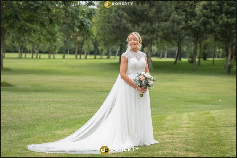 Stratford Park Hotel Wedding Bride