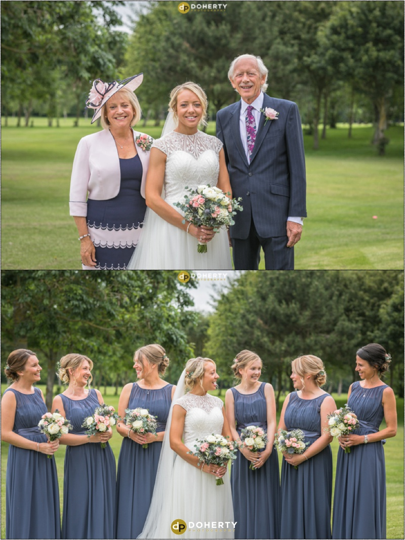 Stratford Park Hotel Wedding Bridesmaids
