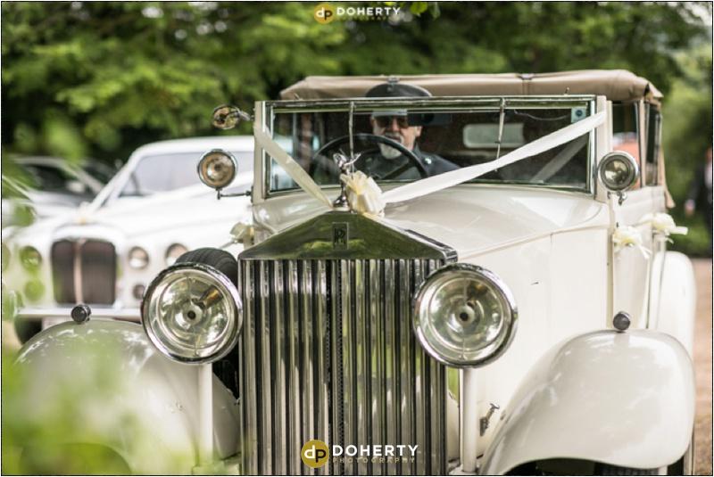Stratford Park Hotel Wedding Car