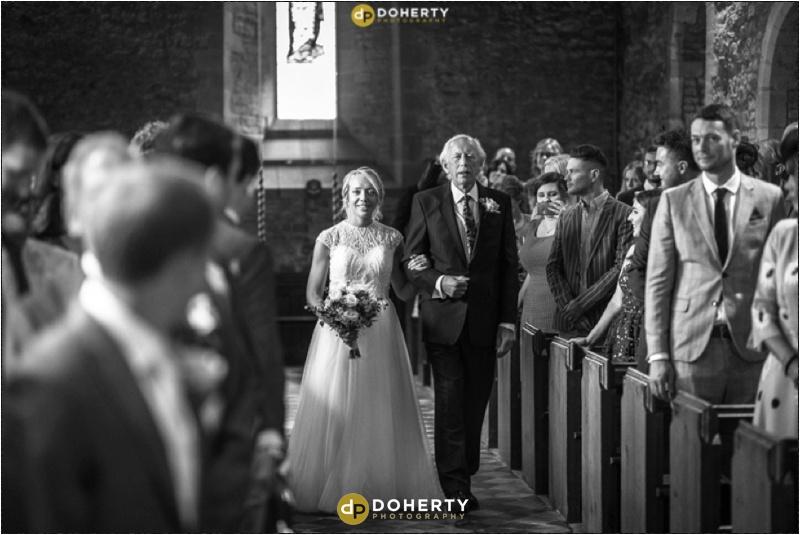 Stratford Park Hotel Wedding Bride Arrival