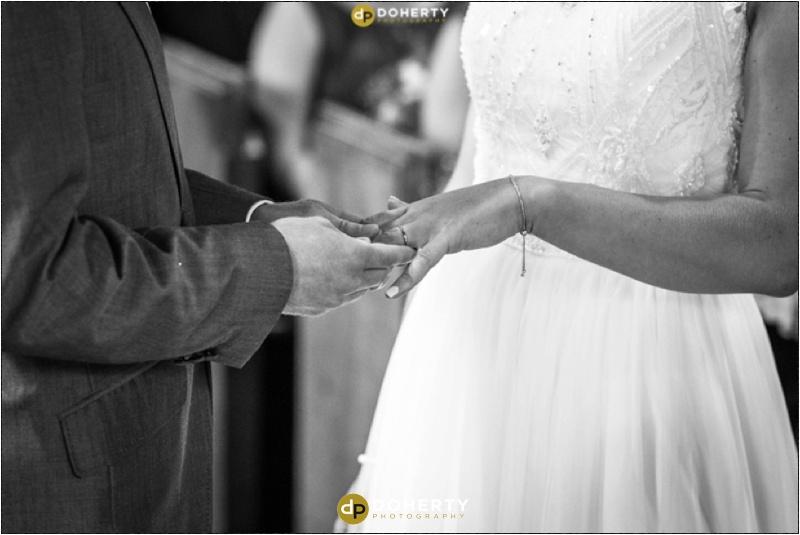 Exchange of Rings Wedding Photography