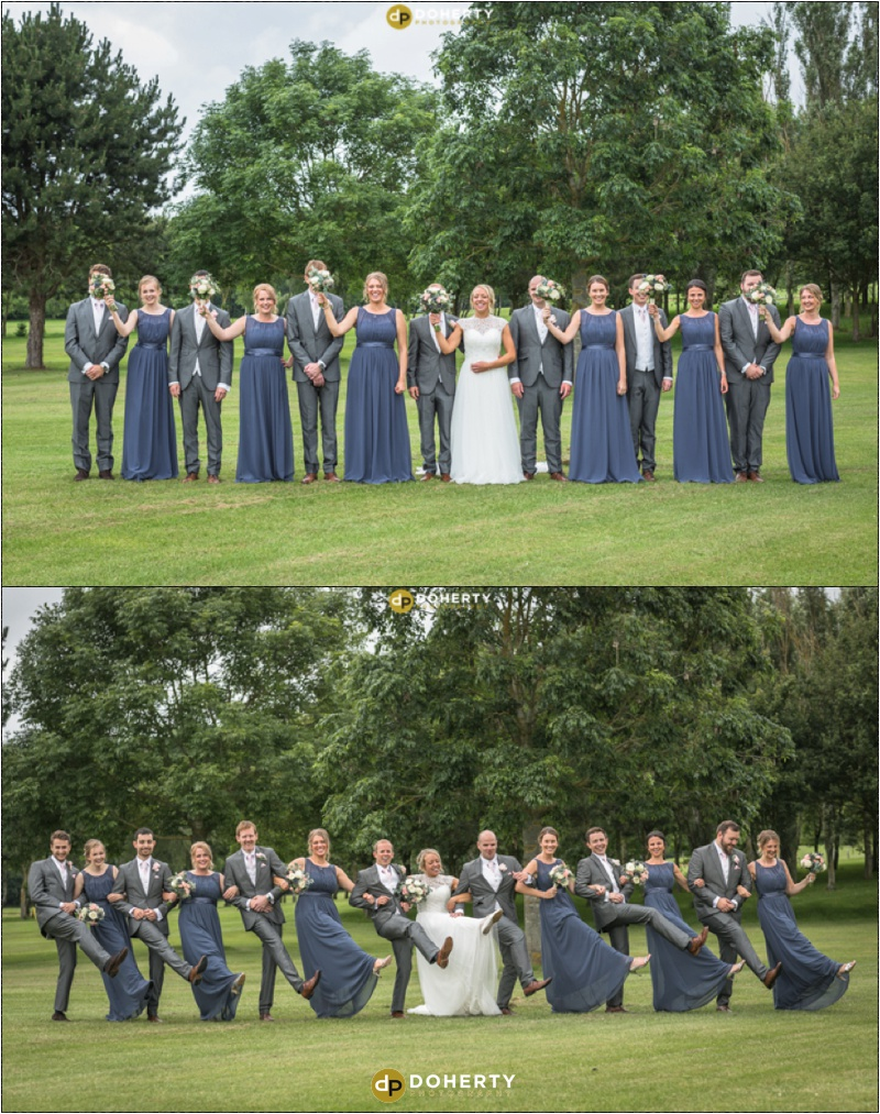 Stratford Park Hotel Bridal Party Wedding Photography