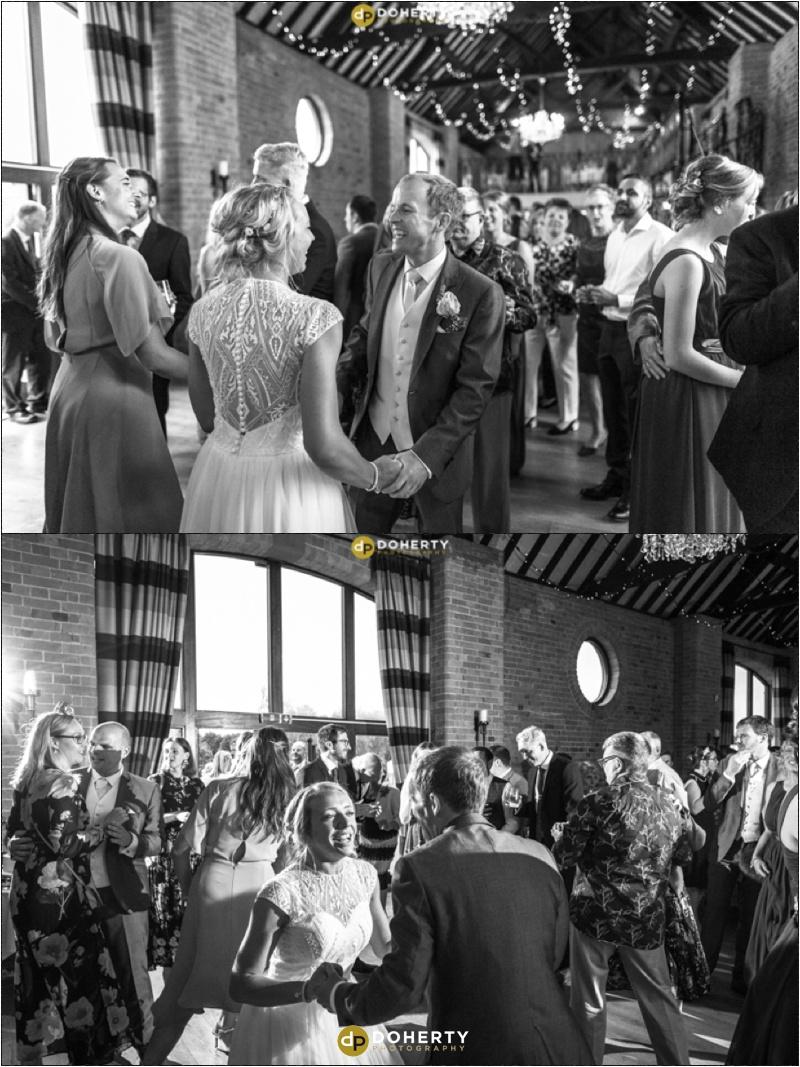 Stratford Park Hotel Wedding First Dance