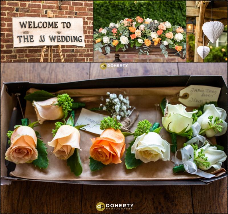 Wethele Manor Wedding Flowers
