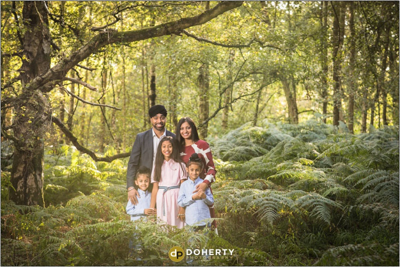 Outdoor portraits near Coventry