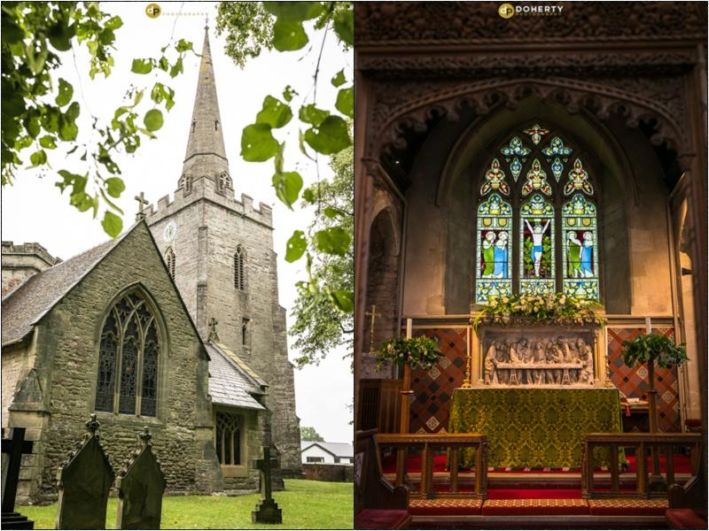 Solihull Lapworth Church Wedding Photography