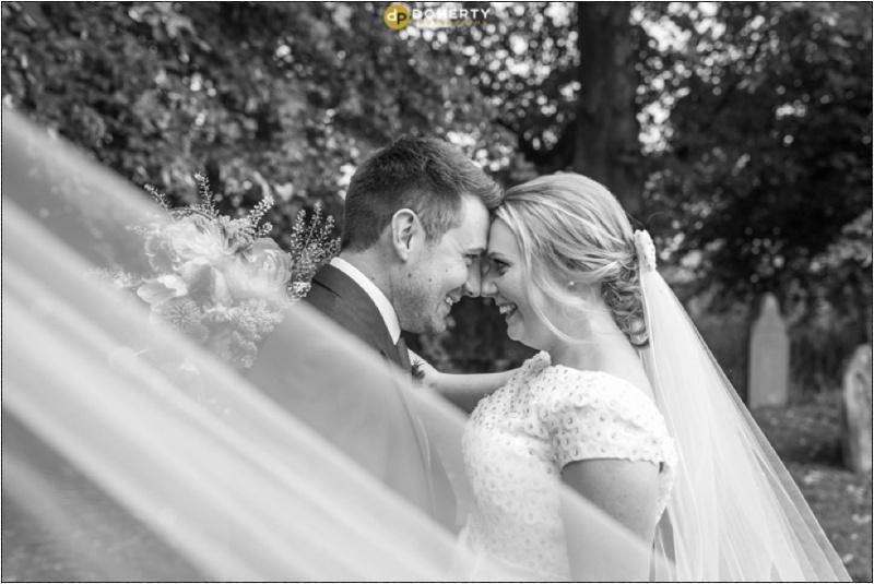 Solihull Wedding Photography veil