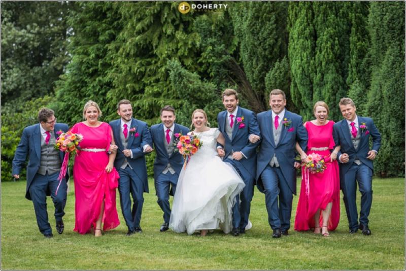 Solihull Wedding bridal party