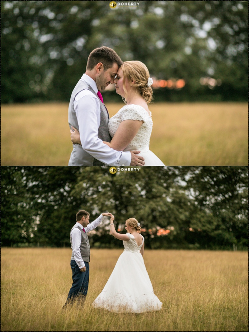 Solihull Wedding Photography sunset