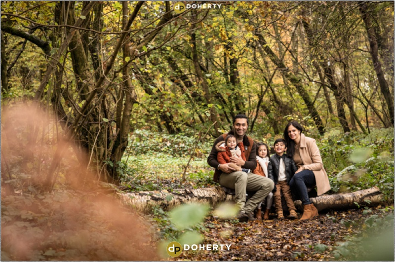 Outdoor family portraits in Coventry