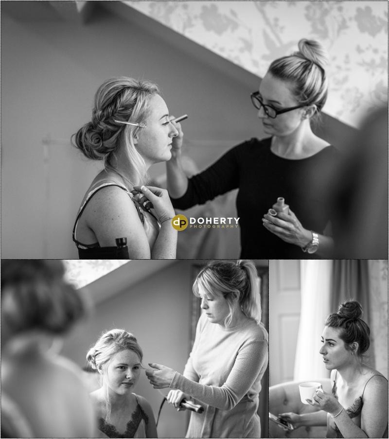 Warwick House Wedding make-up