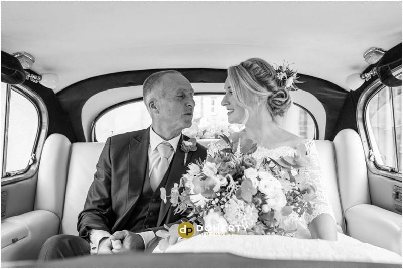 Warwick House Wedding arrivals photo
