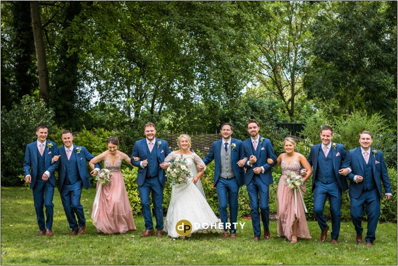 Warwick House Bridal Party Photos