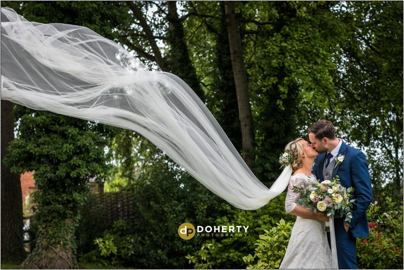 Warwick House Bride and Groom