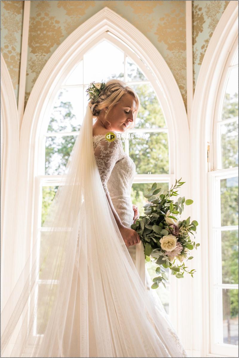 Warwick House Wedding Bride Portrait