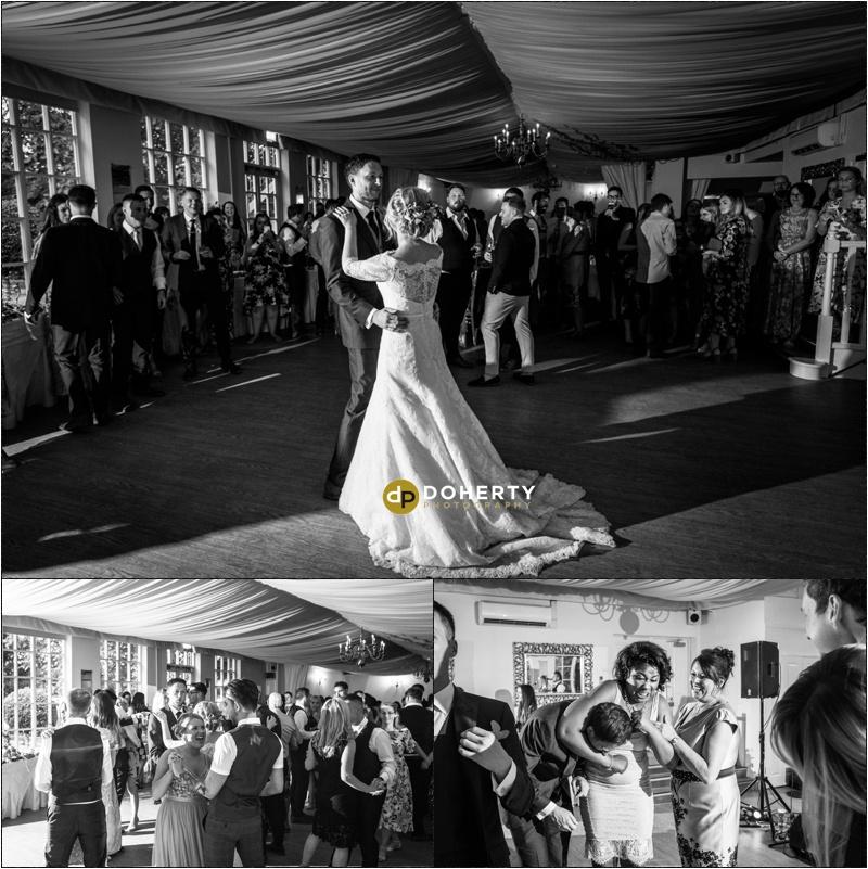 Warwick House Wedding first dance