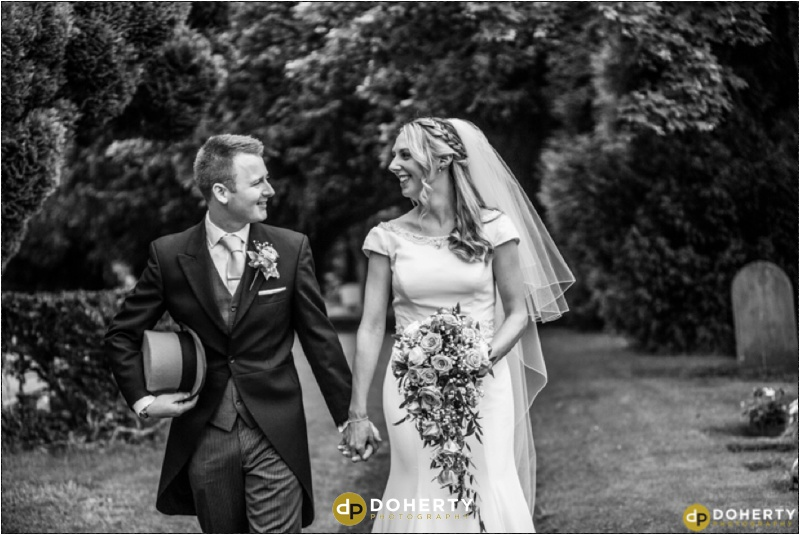 Stanbrook Abbey Wedding couple