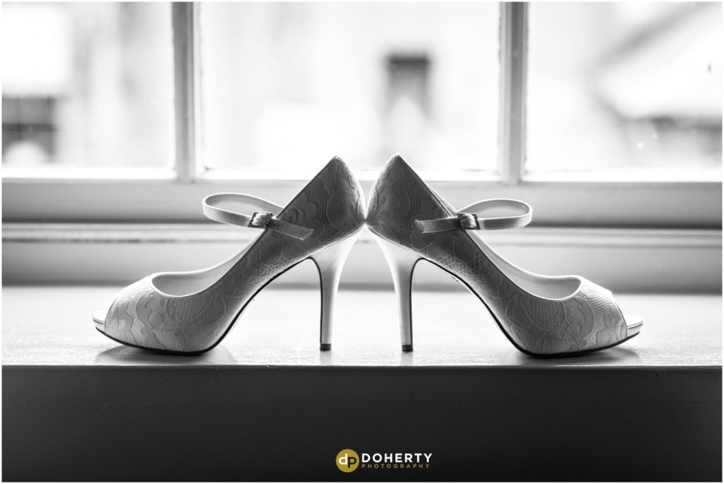 Coombe Abbey Hotel Wedding shoes