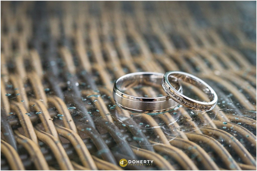 Coombe Abbey Hotel Wedding Rings
