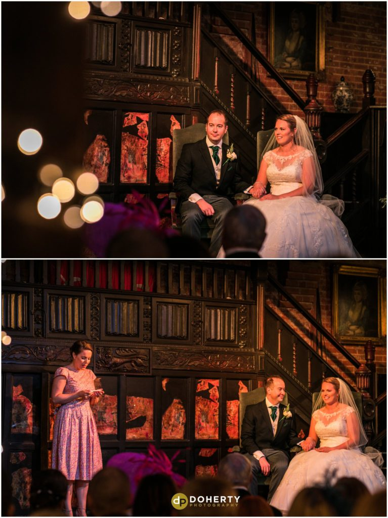 Coombe Abbey Hotel Wedding in Abbeygate