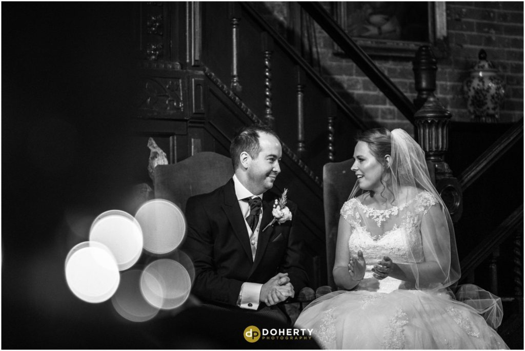 Coombe Abbey Hotel Wedding couple