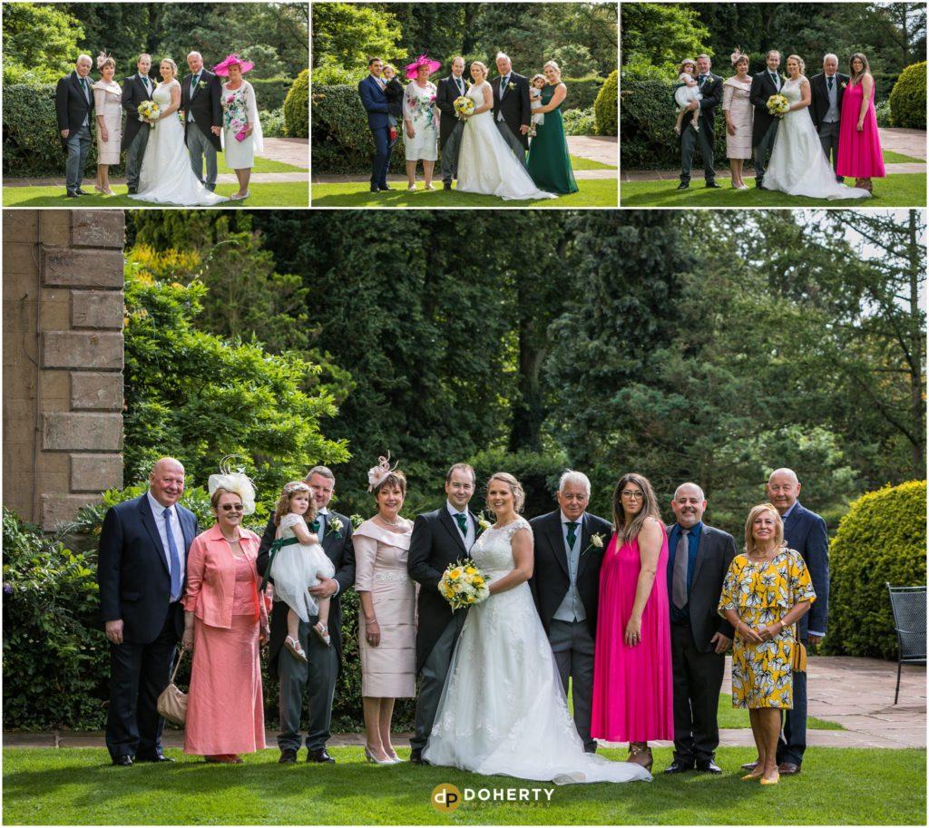 Coombe Abbey Hotel Wedding Family Photos
