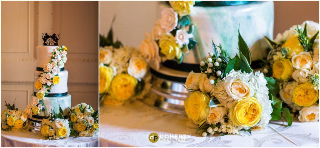 Coombe Abbey Hotel Wedding Cake