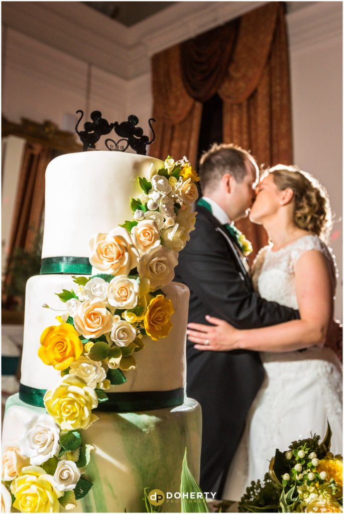 Coombe Abbey Hotel Wedding Cake cutting