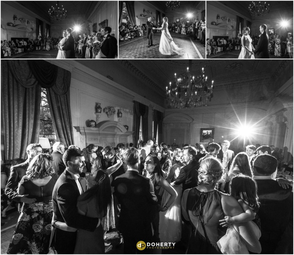 Coombe Abbey Hotel Wedding First Dance