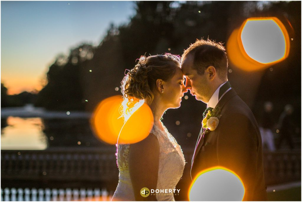 Coombe Abbey Hotel Wedding Twilight Photo