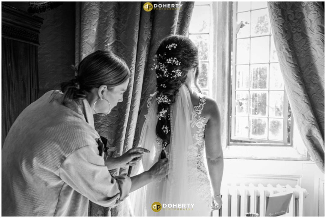 Coombe Abbey Bride Preparations