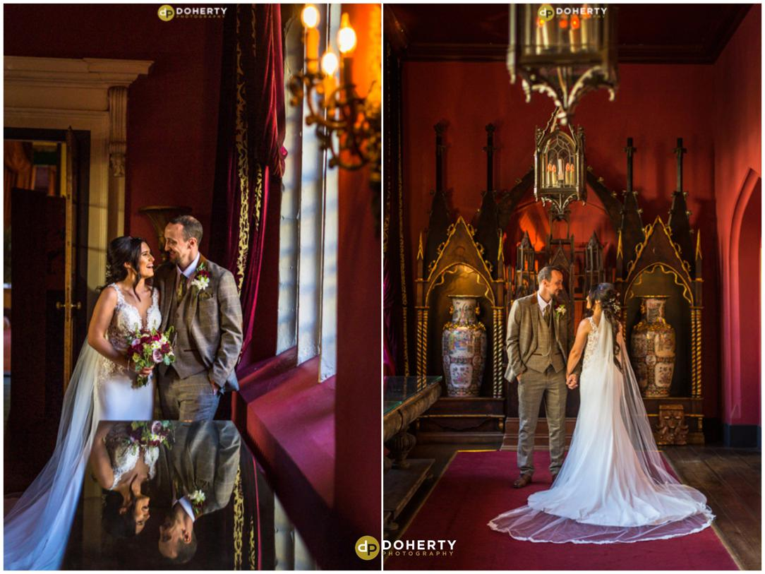 Coombe Abbey Weddng bride and Groom