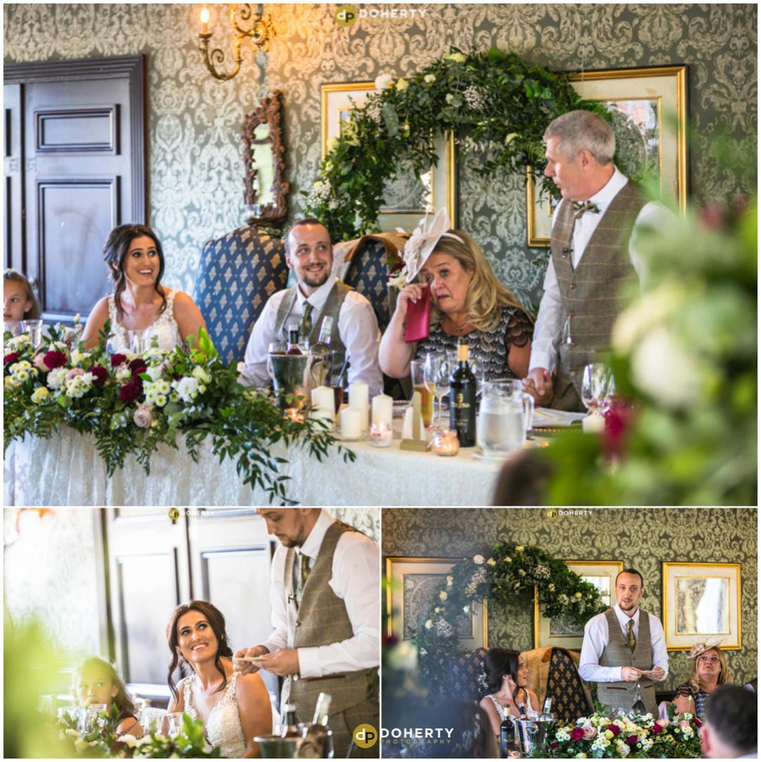 Coombe Abbey Hotel Wedding Speeches