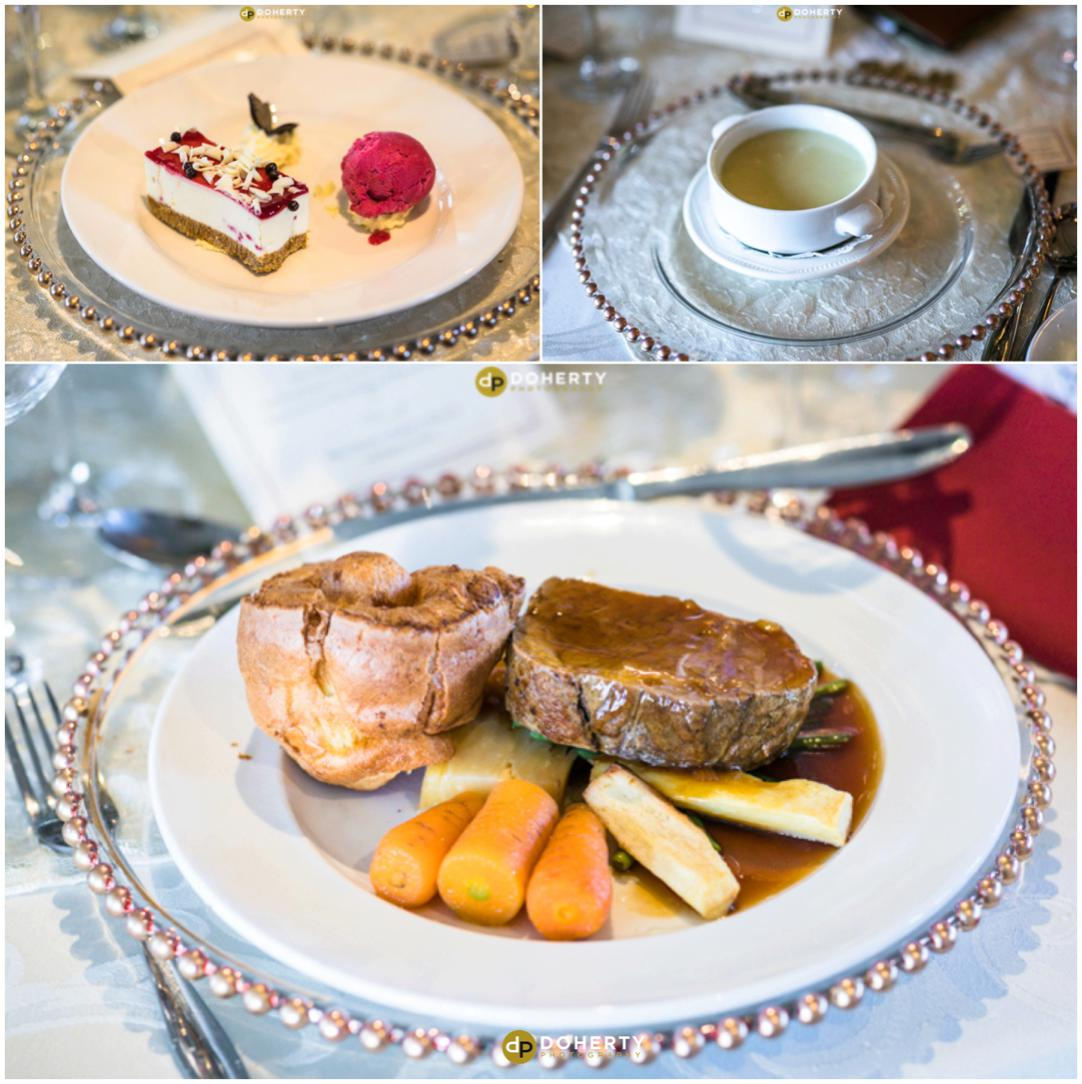 Coombe Abbey Wedding Food