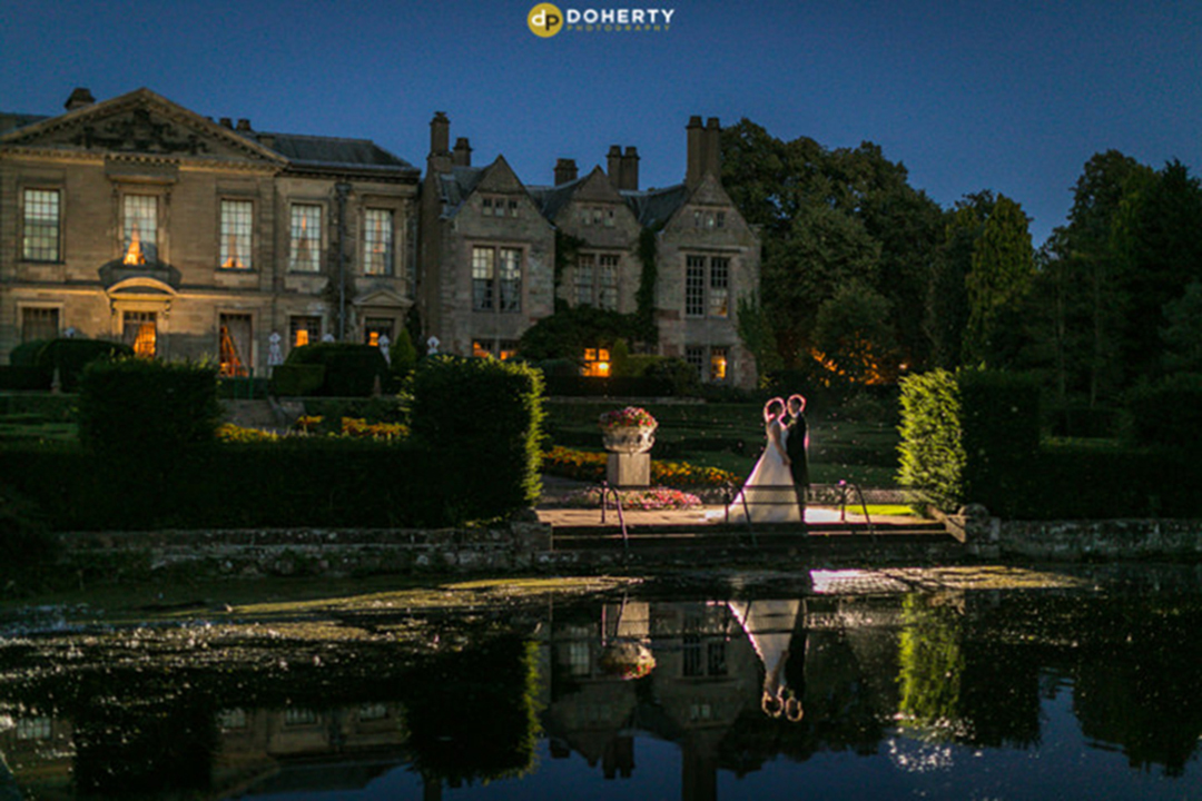 Coombe Abbey at Night