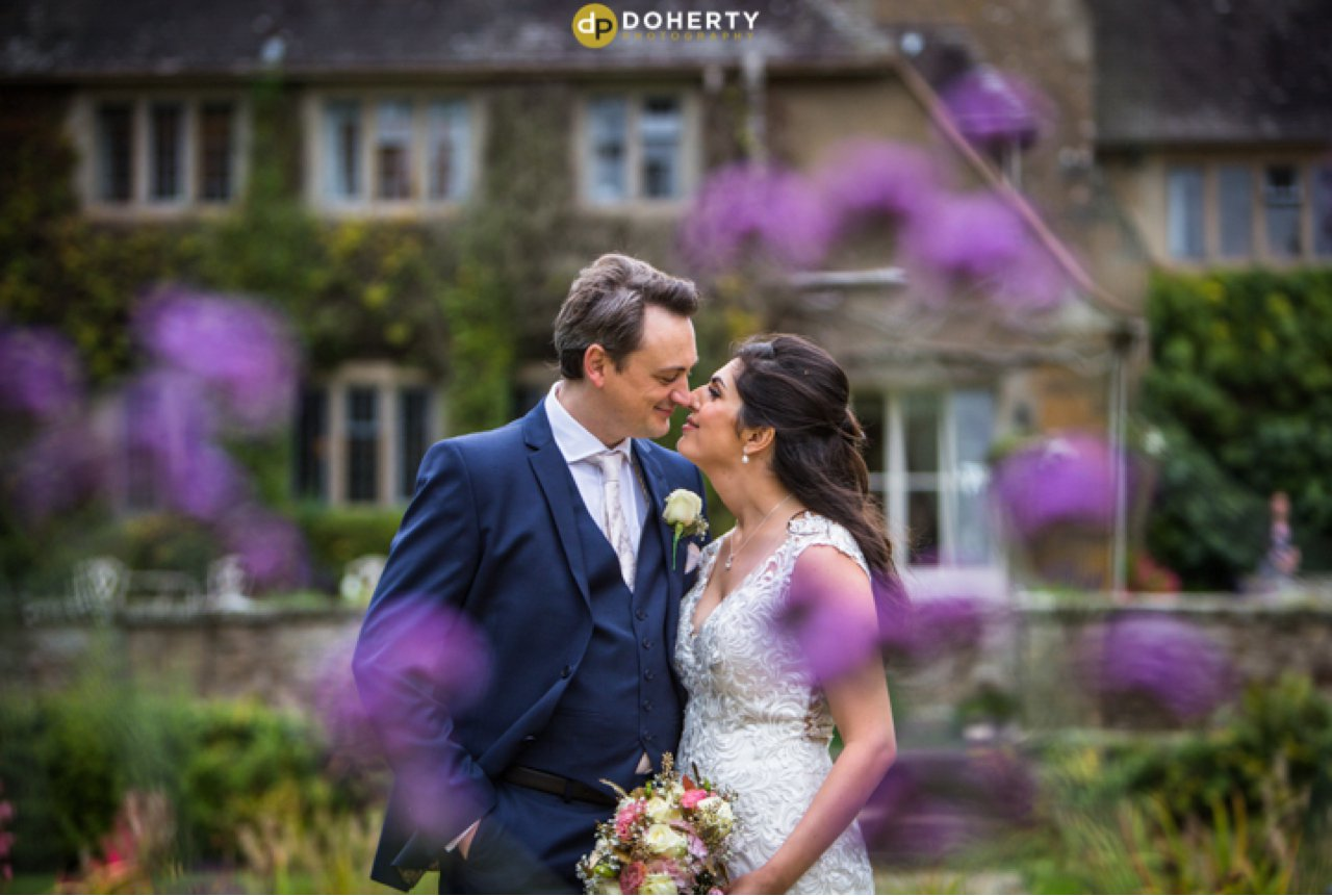 Mallory Court Wedding Couple
