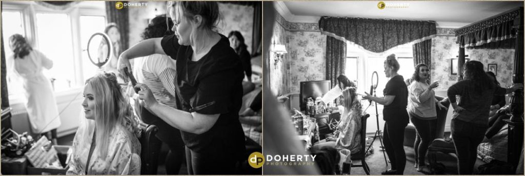Coombe Abbey - Bride Preparations