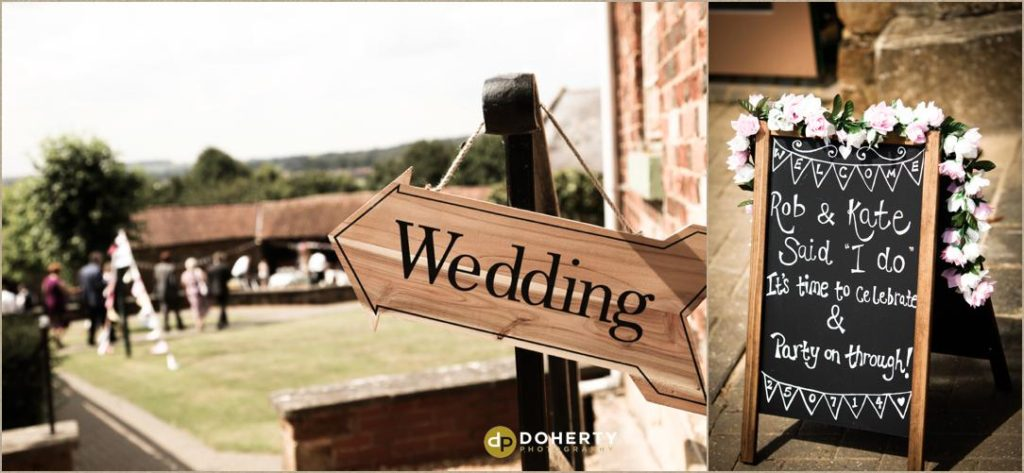 The Barns at Hunsbury Hill Wedding