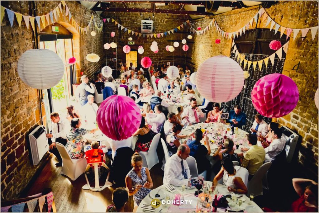 Celebrations at The Barns at Hunsbury Hill Wedding