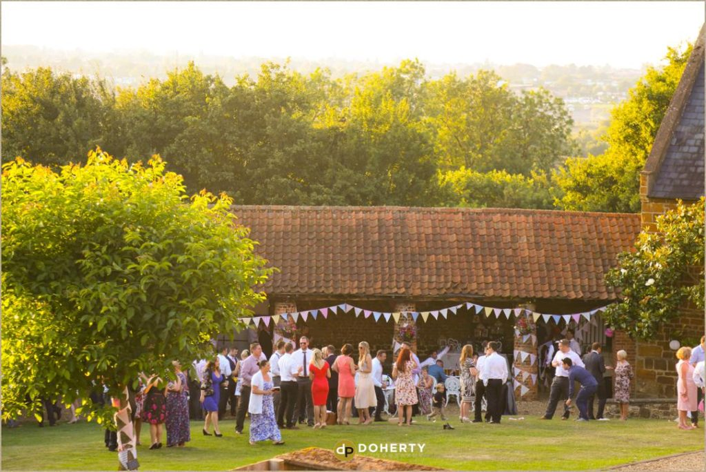 Guests at the Barns at Hunsbury Hill