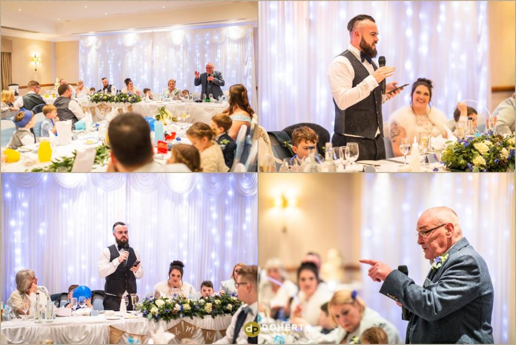 Wedding speeches - Windmill Village Hotel