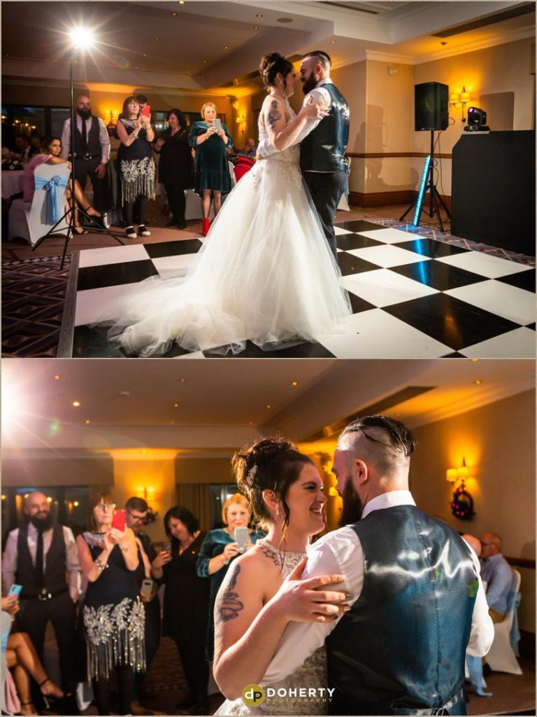 First Dance - Windmill Village Hotel - Winter Wedding