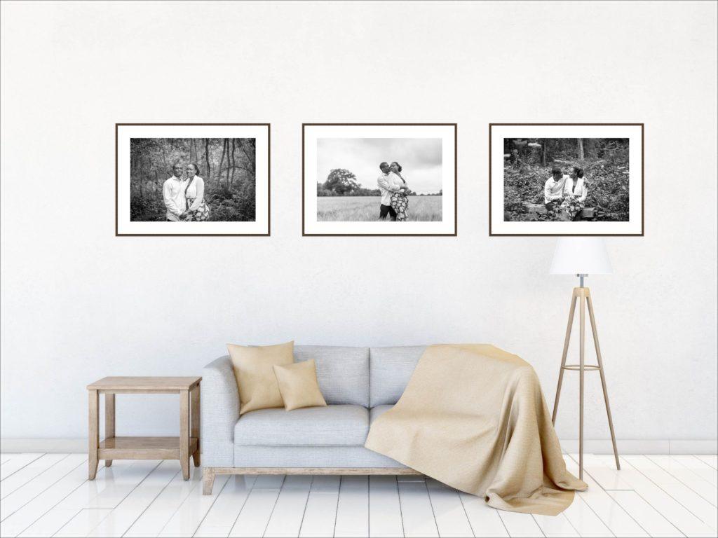 Room of portraits