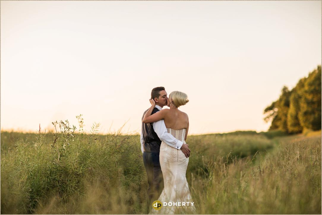 small wedding photograph