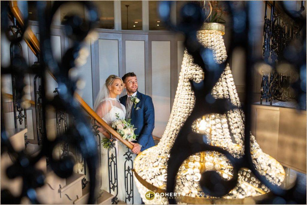 Wedding indoor photos at the Manor Hotel Meriden