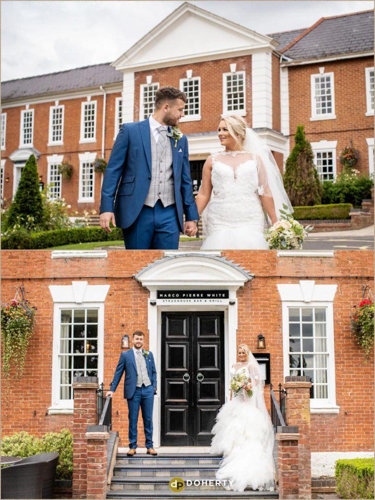 Wedding shoot - Manor Hotel Meriden