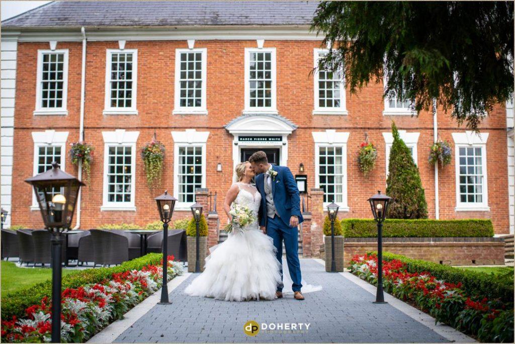 Wedding portraits - Manor Hotel Meriden