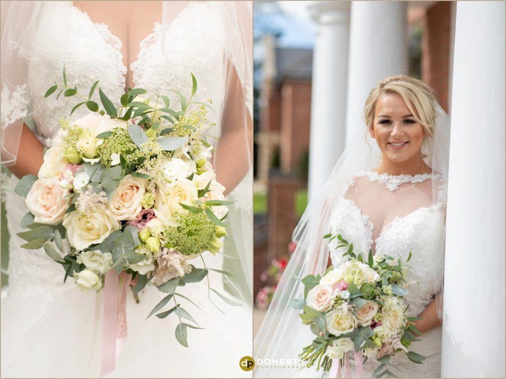 Wedding shoot of flowers - Manor Hotel Meriden
