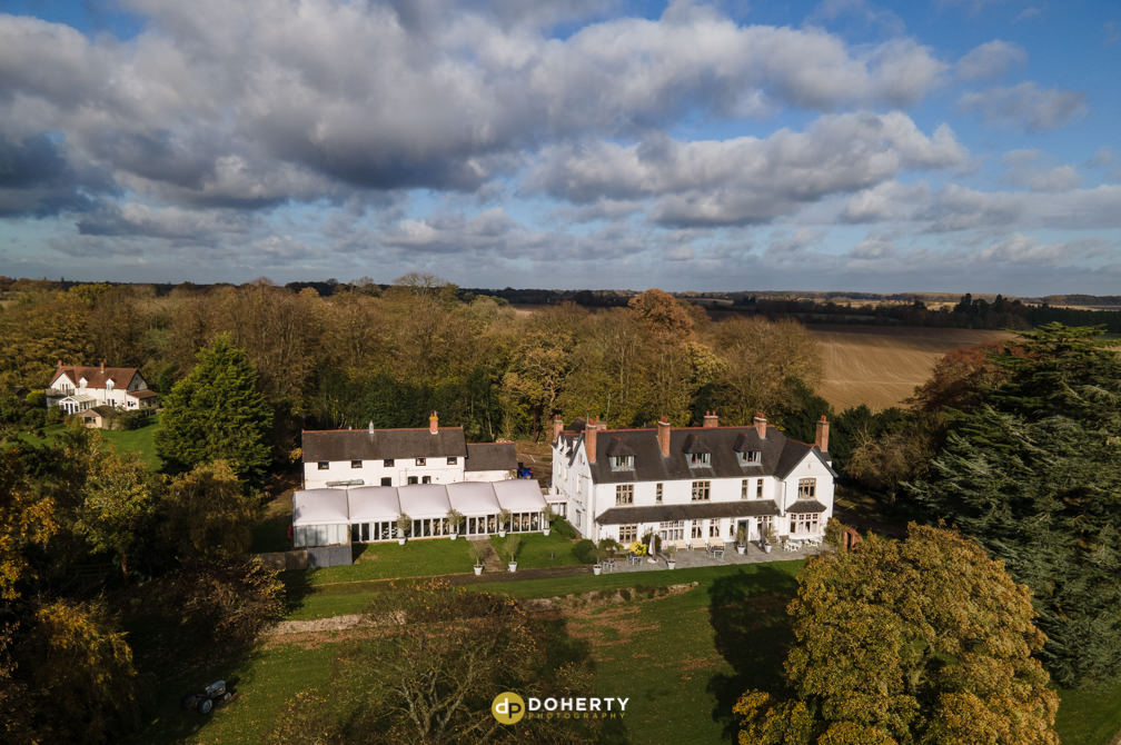 Drone Photography of Ashton Lodge