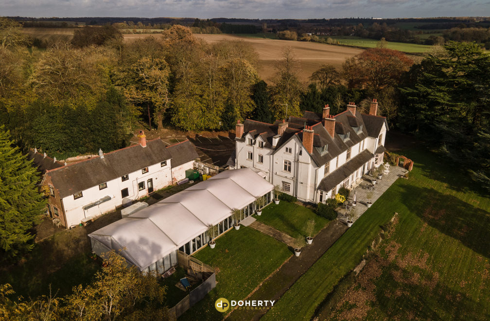 Ashton Lodge birds-eye view
